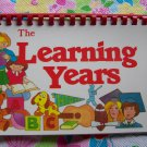 Vintage The Learning Years Childs School Classroom Records Keespake Book Preschool - 12th Grade
