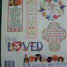 40 Cross Stitch Patterns Book God Bible Verses Jesus Church Faith Prayers
