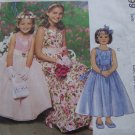Girls 3 4 5 6 Special Moments Dress Petticoat Sewing Pattern 3499 Flower Girl Church Gown