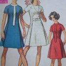1960s Vintage Uncut Dress Sewing Pattern 8088 Princess Seam Raglan Sleeves Miss Petite