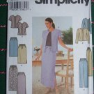 Uncut Womens Plus Size 18 20 22 24 Pants Skirt Jacket Suit Sewing Pattern 9159