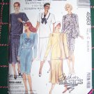 Uncut Vintage Misses 1 & 2 Piece Dress Or Tunic Top & Skirt Sz 10 12 14 Sewing Pattern 4563
