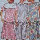 Free USA S&H Vintage Uncut Pullover Maternity Dress 6 8 10 Easy Butterick Sewing Pattern 3645