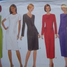 Free USA S&H Uncut Misses 8 10 12 Fitted Sleek Dress 5 Variations Sewing Pattern 5820