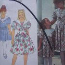 Free USA S&H Vintage Uncut Girls 3 4 5 6 Gunne Sax Dress Jessica McClintock Sewing Pattern 8255