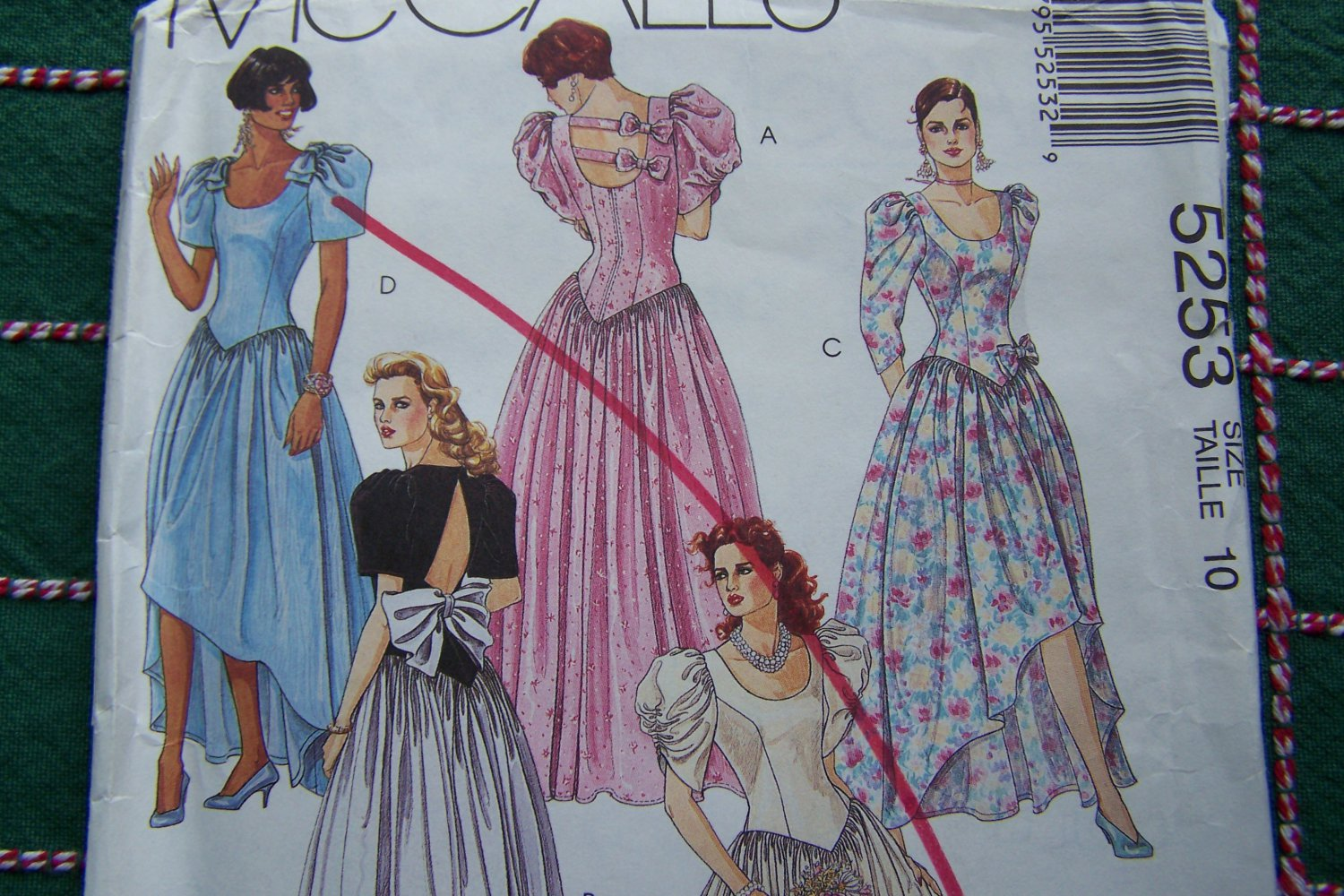 Uncut vintage wedding gown bridesmaids dress mullet skirt for High low wedding dress patterns