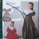 Vintage Girls Dress Smocked Tucked Heirloom Classic Fancy 7 8 10 Sewing Pattern 8145