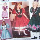 Free USA S&H New Girls 3 4 5 Daisy Kingdom Dress & Romper Sewing Pattern 0682