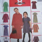 Girls 3 4 5 Dresses 8 Great Looks McCall's Uncut Sewing Pattern 2310