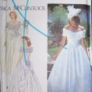 Uncut Simplicity 8165 Jessica McClintock Wedding Gown Brides Dress Sewing Pattern 6 8 10