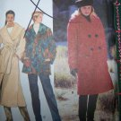Uncut Misses XS S M Lined A Line Coat 3 Length Calf Below Knee Mid Thigh Sewing Pattern 9823