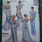 1990's Uncut Alicyn Wedding Gown Bridesmaids Dress Bust 32 1/2 McCall's Sewing Pattern 5758