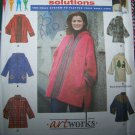 Uncut Simplicity Plus Size Sewing Pattern 9936 Womens Jackets 18 20 22 24 W