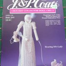 J & P Coats Crochet Collector Doll Pattern 3 Roaring 1920's Lady WIth Dog & Antique Telephone