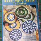6 Crochet Patterns Kitchen Sets Potholders & Hot Pads Leisure Arts 2468 Free USA Shipping