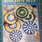6 Crochet Patterns Kitchen Sets Potholders & Hot Pads Leisure Arts 2468 Free USA Shipping