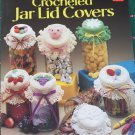 Vintage Thread Crochet Patterns Jar Lid Covers Regular & Wide Mouth Pig Irish Rose Daisy