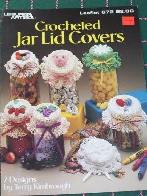Crochet Pattern Crocheted Jar Covers - Ad#: 133353 - Addoway