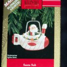 New Hallmark Keepsake Ornament Santa Sub 1992 Magic Blinking Lights Submarine