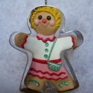 "New Hallmark Keepsake Christmas Ornament ""Clever Cookie"" Gingerbread In Cookie Cutter 1993"