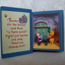 "New Hallmark Keepsake ""A Visit From Piglet"" Winnie The Pooh Collectors Series 1998 NEW"