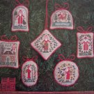 The Prairie Schooler Book 48 Cross Stitch Patterns Christmas Visit Ornaments