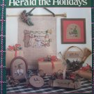 Leisure Arts 515 Herald The Holidays Cross Stitch Embroidery Christmas Patterns