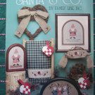 Leisure Arts 507 Santa & Co Cross Stitch Embroidery Christmas Patterns