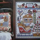 New Jeremiah Junction Cross Stitch Patterns Country Christmas Sampler 2 Noel Goose