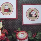 Vintage Cross Stitch Santa & Mrs Claus Cross Stitch Patterns Free USA Shipping