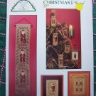 Vintage Old World Santa Cross Stitch Patterns Christmas Ornaments Sampler