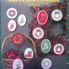 12 Vintage Cross Stitch Christmas Ornament Patterns Cowboy & Ski Boot Stockings Wreaths