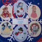 Vintage Cross Stitch Patterns Christmas Ornaments Precious Moments Mary's Moo Moo's Cherished