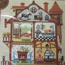 New Vintage Sunset Needlepoint Craft Kit 1890's Doll House