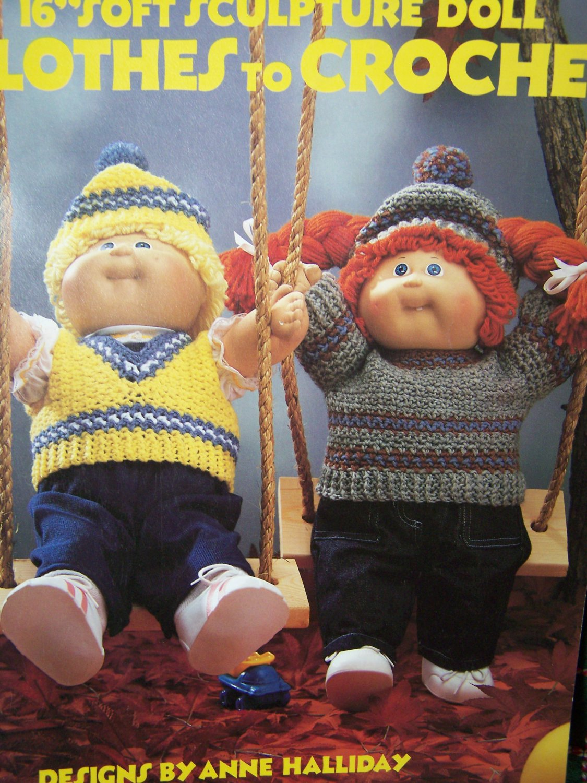 Fantástico Free Crochet Patterns For Cabbage Patch Dolls Modelo ...