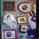 1987 Nomis NFL Cross Stitch Patterns Football Team Helmets & Logos American & National Leagues 401