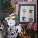 Patches in Quilts & Dolls Patterns Book Stuffed Rabbit Doll & Dress