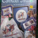 Carousel Magic Horses Cross Stitch Patterns Leisure Arts Color Charts 2366