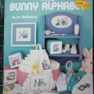 Vintage 1980's Bunny Rabbit Alphabet Cross Stitch Patterns Leisure Arts 724 Color Charts