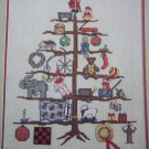 Cross Stitch Patterns WIshing Tree Sampler Christmas Ornaments Bowl Fillers 915
