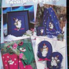Frosty The Snowman Cross Stitch Patterns Ornaments Afghan Wall Hanging 2545