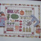 Cross Stitch Pattern Debbie Mumm Sewing The Seeds Farmers Veggies Sampler 765