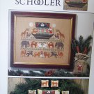 The Prairie Schooler # 32 Christmas Ark Cross Stitch Pattern