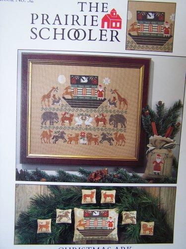 The Prairie Schooler # 32 Christmas Ark Cross Stitch Pattern