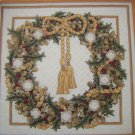 Teresa Wentzler Christmas Wreath Just Cross Stitch Pattern Needlework Embroidery 2214