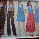 Ladies V Jumper Dress Jumpsuit Top 16 18 20 22 Sewing Pattern 4879