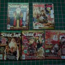 Better Homes & Gardens Lot of 5 Christmas Santa Back Issue Magazines