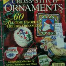 60 Christmas Cross Stitch Ornament Patterns Needlework 1997