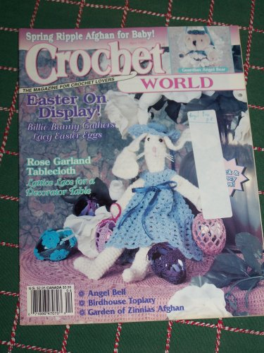April 1997 Crochet World Back Issue Pattern Magazine