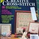 1991 McCall's Creative Cross Stitch 49 Patterns Back Issue Magazine.